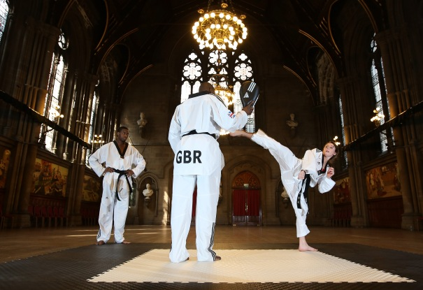 WTF World Taekwondo Grand Prix Manchester Photocall