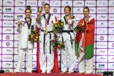 World Taekwondo Championships 2015, Rachelle Booth, Bronze rights free c-o GBTaekwondo (3)